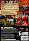 Blood Bowl Xbox 360 Back Cover