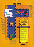 Dig Dug TI-99/4A Back Cover