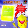 Muppet RaceMania PlayStation Inside Cover