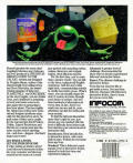 The Hitchhiker's Guide to the Galaxy Atari ST Back Cover
