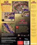 Age of Empires: Gold Edition Windows Back Cover