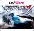 Asphalt 4: Elite Racing Nintendo DSi Front Cover