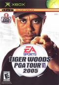 Tiger Woods PGA Tour 2005 Xbox Front Cover
