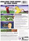 Tiger Woods PGA Tour 2005 Xbox Back Cover