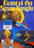 Quest of the Space Beagle Atari 8-bit Front Cover