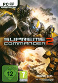 Supreme Commander 2 Windows Front Cover