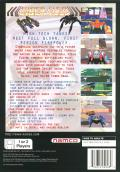 Cyber Sled PlayStation Back Cover