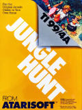 Jungle Hunt TI-99/4A Front Cover