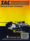 TAC: Tactical Armor Command Atari 8-bit Front Cover