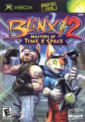 Blinx 2: Masters of Time & Space Xbox Front Cover