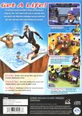 The Sims PlayStation 2 Back Cover