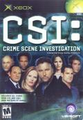 CSI: Crime Scene Investigation Xbox Front Cover