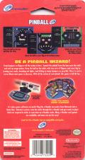 Pinball Game Boy Advance Back Cover