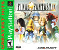Final Fantasy IX PlayStation Front Cover