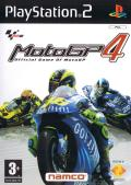 MotoGP 4 PlayStation 2 Front Cover