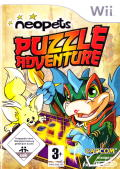 Neopets Puzzle Adventure Wii Front Cover