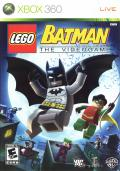 LEGO Batman: The Videogame Xbox 360 Front Cover