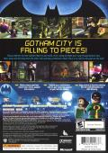 LEGO Batman: The Videogame Xbox 360 Back Cover