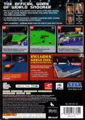 World Snooker Championship 2007 Xbox 360 Back Cover