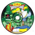 The Simpsons Wrestling PlayStation Media