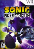 Sonic Unleashed Wii Front Cover