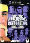 Legends of Wrestling II GameCube Front Cover