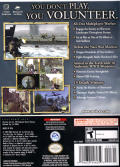 Medal of Honor: Frontline GameCube Back Cover