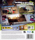 DiRT 2 PlayStation 3 Back Cover