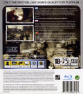 Resistance: Fall of Man PlayStation 3 Back Cover