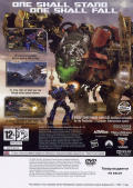 Transformers: Revenge of the Fallen PlayStation 2 Back Cover