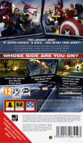 Marvel Ultimate Alliance 2 PSP Back Cover