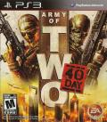 Army of Two: The 40th Day PlayStation 3 Front Cover