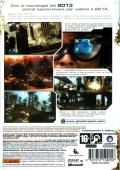 Tom Clancy's Ghost Recon: Advanced Warfighter Xbox 360 Back Cover