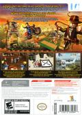 LEGO Indiana Jones 2: The Adventure Continues  Wii Back Cover