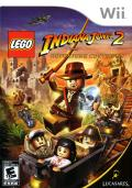 LEGO Indiana Jones 2: The Adventure Continues  Wii Front Cover