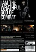 Rogue Warrior Xbox 360 Back Cover