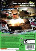 DiRT 2 Xbox 360 Back Cover