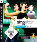 SingStar Vol.3 PlayStation 3 Front Cover