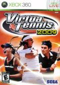 Virtua Tennis 2009 Xbox 360 Front Cover