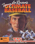 Tony La Russa's Ultimate Baseball Commodore 64 Front Cover
