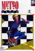 Metro Cross Commodore 64 Front Cover