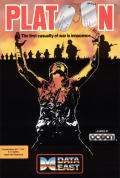 Platoon Commodore 64 Front Cover