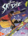 Ski or Die Commodore 64 Front Cover