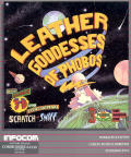 Leather Goddesses of Phobos Commodore 64 Front Cover