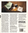 Stationfall Commodore 64 Back Cover