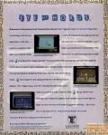 Eye of Horus Commodore 64 Back Cover