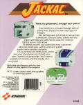 Jackal Commodore 64 Back Cover