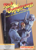 Rick Dangerous Commodore 64 Front Cover