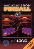 Night Mission Pinball Commodore 64 Front Cover