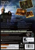 Harry Potter and the Order of the Phoenix Xbox 360 Back Cover